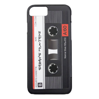 Custom Retro Cassette Tape iPhone 8/7 Case