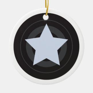 Custom Roller Derby Jammer Star Christmas Ornament