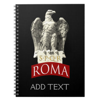 Custom Roman Eagle Notebooks