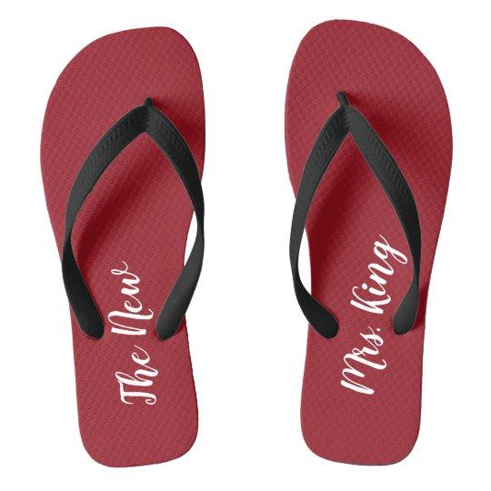 Custom Ruby Red Honeymoon The New Mrs. Flip