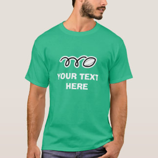 Custom rugby t shirt for player or coach