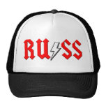 custom RUSS rock and roll shirt Cap