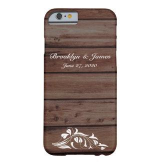 Custom Rustic Wedding iPhone 6 Cases