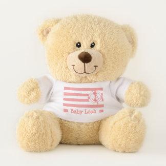 Custom Sailor Stripes Teddy (For Girls) Teddy Bear