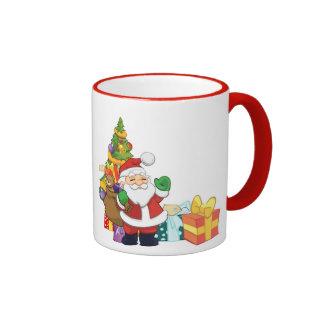 Custom Santa Mug