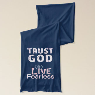 Custom Scarves Christian Women Scarf Trust God