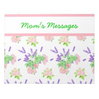 Custom Scents of Summer Notepad or Jotter