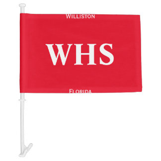 Custom School Flags, Letters, Town Name, State Car Flag