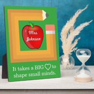 Custom School Teacher's Quote Personalized Teacher Plaque