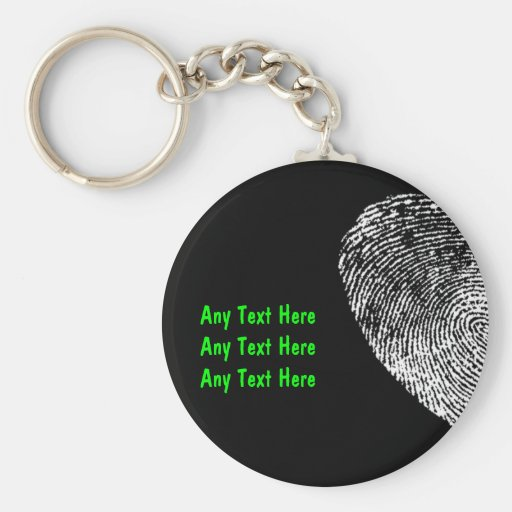 Custom Security Key Chains