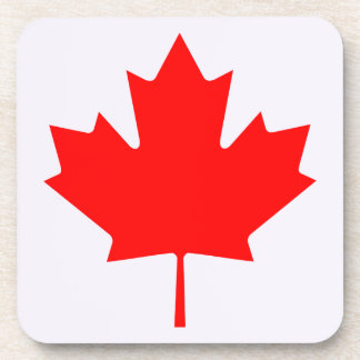 Custom Set of 6 Canada Day drink coasters