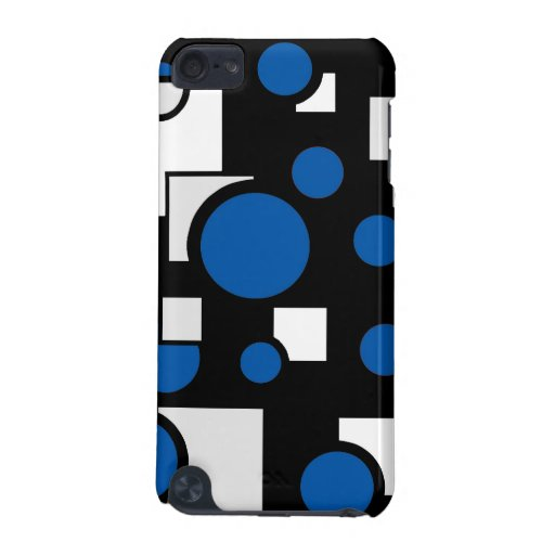 Custom Shapes in Blue and White iPod Touch 5G Covers