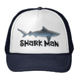 Custom Shark Man Cap