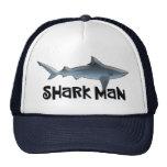 Custom Shark Man Cap