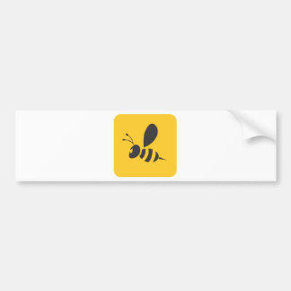 Custom Shirts :  Elegant Bee Icon Shirts Bumper Sticker