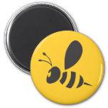 Custom Shirts :  Elegant Bee Icon Shirts Fridge Magnets