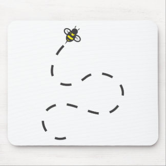 Custom Shirts : Flying Trail Bee Shirts Mouse Mat