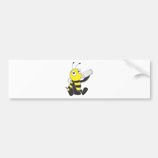 Custom Shirts : Happy Baby Bee Shirts Bumper Sticker