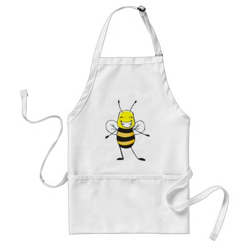 Custom Shirts : Happy Bee Shirts Apron