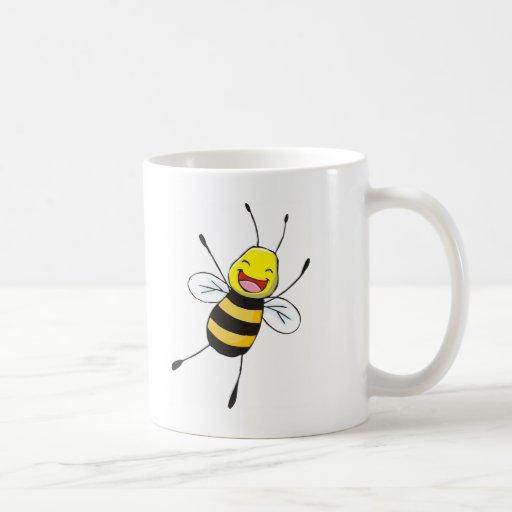 Custom Shirts : Happy Bee Shirts Mug