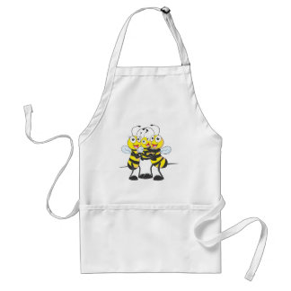 Custom Shirts Happy Dad Mom Baby Bee Shirts Aprons