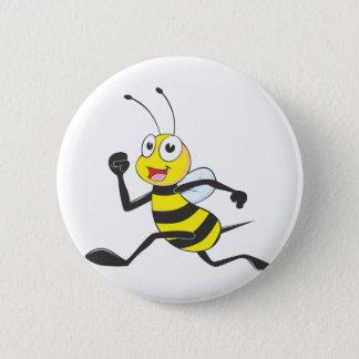 Custom Shirts : Running Jumping Bee Shirts 6 Cm Round Badge