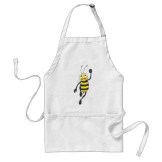 Custom Shirts Running Jumping Bee Shirts Aprons