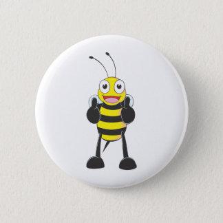 Custom Shirts : Thumbs up Bee Shirts 6 Cm Round Badge