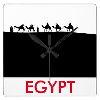 Custom Simple Egypt Camel Minimalist Design Clock