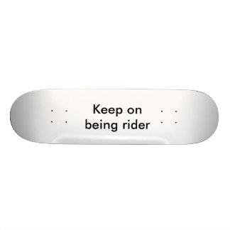 Custom skate board