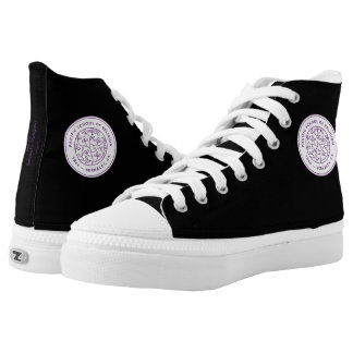 Custom sneakers with Crest