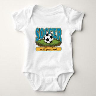 Custom Soccer Add Text Infant Creeper