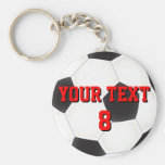 Custom Soccer Ball Keychain