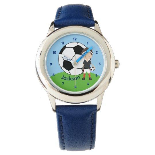 Custom Soccer Boy Watch