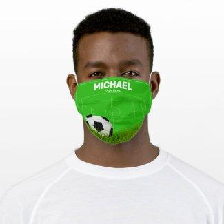 Custom Soccer Coach | Football Team Cloth Face Mask