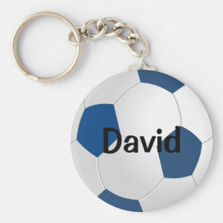 Custom Soccer Keychain (Keyring)