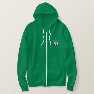 Custom Soccer Team Embroidered Hoodie