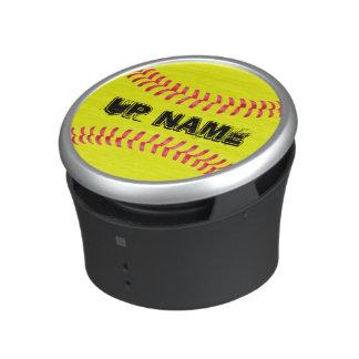 Custom Softball Bluetooth and NFC Speaker