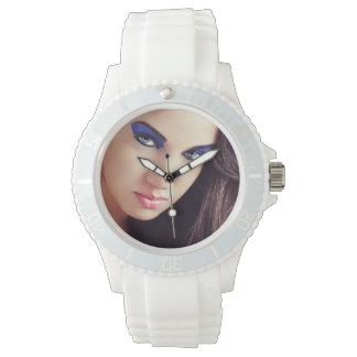 Custom sport Wristwatch of silicone blan