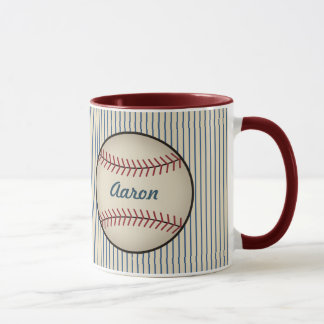 Custom Sports Baseball Coffee Mug Gift