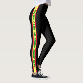 Custom Sports Club Leggings