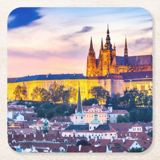 Custom Square Coasters Prague