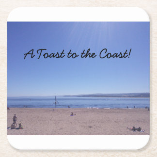 Custom Square Seaside Coasters