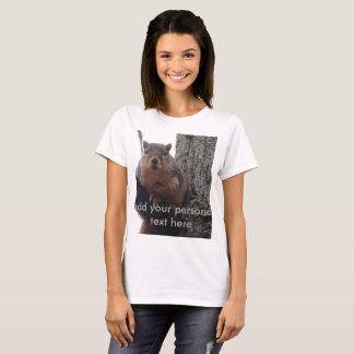 Custom squirrel shirt personalized