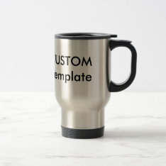 Custom Stainless Steel Insulated Traveller Mug Cup at Zazzle