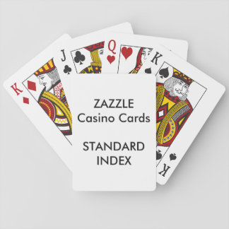 Custom STANDARD INDEX Casino Playing Cards