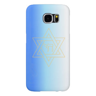 Custom Star of David and Chai -Iphone 4/4S case Samsung Galaxy S6 Cases