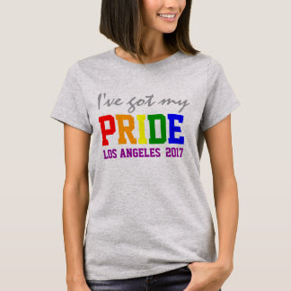 Custom State and Year I've Got my Pride Gay Pride T-Shirt