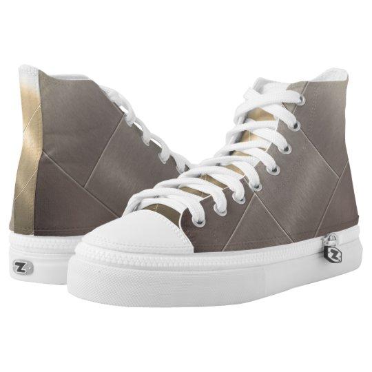 Custom Steel Block High Top Shoes