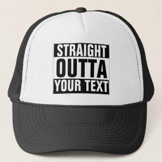 Custom STRAIGHT OUTTA Hat